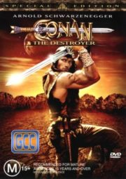 CONAN, THE DESTROYER – CONAN, O DESTRUIDOR – 1984