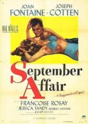 SEPTEMBER AFFAIR – PARAÍSO PROIBIDO – 1950