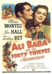 ALI BABA AND THE FORTY THIEVES – ALI BABA E OS QUARENTA LADRÕES – 1944