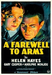 A FAREWELL TO ARMS – ADEUS AS ARMAS – 1932