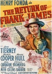 THE RETURN OF FRANK JAMES – O RETORNO DE FRANK JAMES – 1940