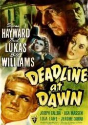 DEADLINE AT DAWN – MORTE AO AMANHECER – 1946