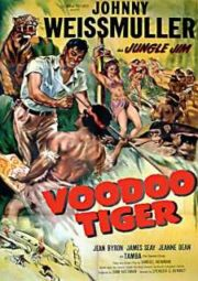 JUNGLE JIM VOODOO TIGER – JIM DAS SELVAS O TIGRE SAGRADO – 1952