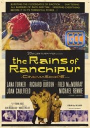 THE RAINS OF RANCHIPUR – AS CHUVAS DE RANCHIPUR – 1955