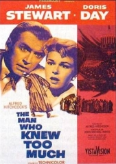 THE MAN WHO KNEW TOO MUCH – O HOMEM QUE SABIA DEMAIS – 1956