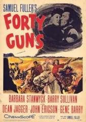 FORTY GUNS – QUARENTA RIFLES – 1957