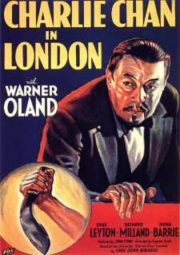CHARLIE CHAN IN LONDON – CHARLIE CHAN EM LONDRES – 1934