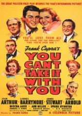 YOU CAN'T TAKE IT WITH YOU – DO MUNDO NADA SE LEVA – 1938