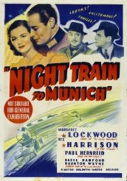 NIGHT TRAIN TO MUNICH – GESTAPO – 1940