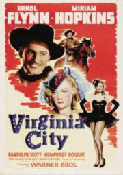 VIRGINIA CITY – CARAVANA DE OURO – 1940