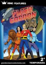 THE NEW ADVENTURES OF FLASH GORDON – FLASH GORDON – 2° TEMPORADA – 1980 A 1981