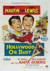 HOLLYWOOD OR BUST – OU VAI OU RACHA – 1956