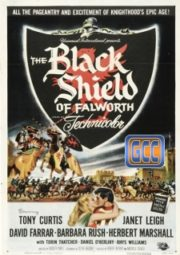 THE BLACK SHIELD OF FALWORTH – O ESCUDO NEGRO DE FALWORTH – 1954