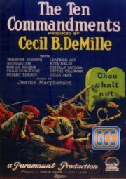 THE TEN COMMANDMENTS – OS DEZ MANDAMENTOS – 1923