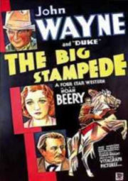 THE BIG STAMPEDE – A GRANDE ESTIRADA – 1932