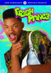 THE FRESH PRINCE OF BEL-AIR – UM MALUCO NO PEDAÇO – 2° TEMPORADA – 1991 A 1992