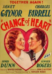 CHANGE OF HEART – O SEU PRIMEIRO AMOR – 1934