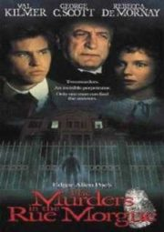 THE MURDERS IN THE RUE MORGUE – OS ASSASSINOS DA RUA MORGUE – 1986