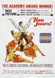 TOM JONES – AS AVENTURAS DE TOM JONES – 1963