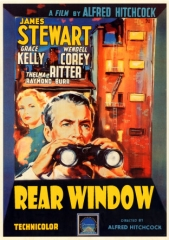 REAR WINDOW – JANELA INDISCRETA – 1954