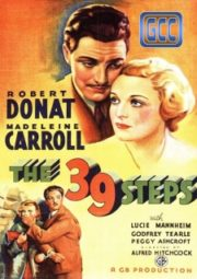 THE 39 STEPS – OS 39 DEGRAUS – 1935