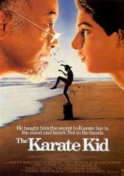 THE KARATE KID 1 – KARATE KID 1 A HORA DA VERDADE – 1984