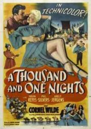 A THOUSAND AND ONE NIGHTS – ALADIN E A PRINCESA DE BAGDÁ – 1945