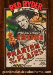 PHANTOM OF THE PLAINS – RED RYDER O BARBA-AZUL DO OESTE – 1945