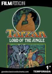 TARZAN LORD OF THE JUNGLE  – TARZAN – 1° TEMPORADA – 1976