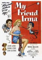 MY FRIEND IRMA – AMIGA DA ONÇA – 1949