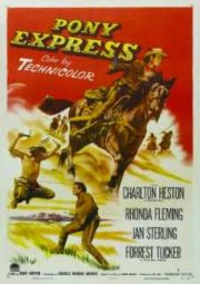 PONY EXPRESS – AS AVENTURAS DE BÚFALO BILL – 1953