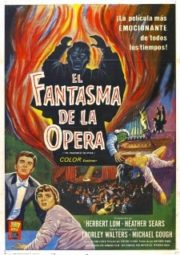 THE PHANTOM OF THE OPERA – O FANTASMA DA ÓPERA – 1962