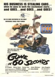 GONE IN 60 SECONDS – 60 SEGUNDOS – 1974