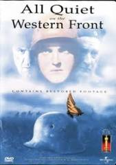 ALL QUIET ON THE WESTERN FRONT – SEM NOVIDADES NO FRONT – 1930