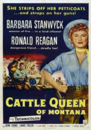 CATTLE QUEEN OF MONTANA – MONTANA TERRA DO ÓDIO – 1954