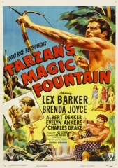 TARZAN'S MAGIC FONTAIN – TARZAN E A MONTANHA SECRETA – 1949