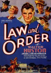 LAW AND ORDER – LEI E ORDEM – 1932