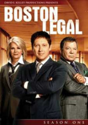BOSTON LEGAL – JUSTIÇA SEM LIMITES – 1° TEMPORADA – 2004 A 2005