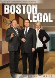 BOSTON LEGAL – JUSTIÇA SEM LIMITES – 3° TEMPORADA – 2006 A 2007