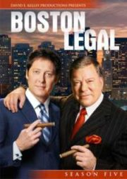 BOSTON LEGAL – JUSTIÇA SEM LIMITES – 5° TEMPORADA – 2008