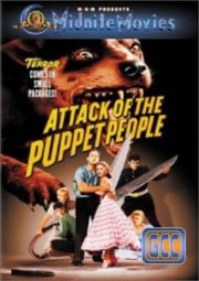 ATTACK OF THE PUPPET PEOPLE – DR. ENCOLHEDOR – 1958