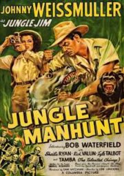 JUNGLE JIM JUNGLE MANHUNT – JIM DAS SELVAS CACIQUE BRANCO – 1951