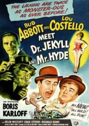 ABBOTT E COSTELLO – MEET DR. JEKYLL AND MR. HYDE – ENFRENTANDO O MÉDICO E O MONSTRO – 1953