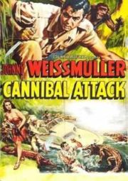 JUNGLE JIM CANNIBAL ATTACK – JIM DAS SELVAS HOMEM CROCODILO – 1954