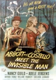 ABBOTT E COSTELLO – MEET THE INVISIBLE MAN – E O HOMEM INVISÍVEL – 1951