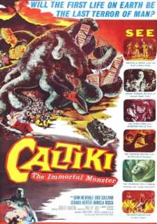CALTIKI IL MOSTRO IMMORTALE - CALTIKI THE IMMORTAL MONSTER - CALTIKI O MONSTRO IMORTAL - 1959