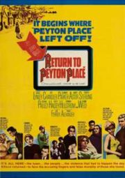 RETURN TO PEYTON PLACE – DE VOLTA À CALDEIRA DO DIABO – 1961