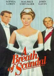 A BREATH OF SCANDAL – O ESCÂNDALO DA PRINCESA – 1960