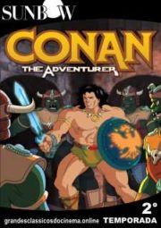 CONAN THE ADVENTURER – CONAN O AVENTUREIRO – 2° TEMPORADA – 1993